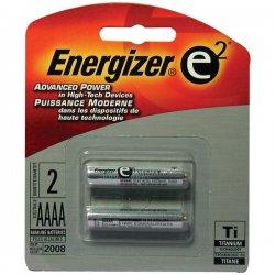 Energizer - 96BP-2 - Energizer Aaaa Alkaline Batt E2 Titanium - 2 Pk