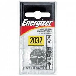 Energizer - ECR-2032BP - Energizer Coin Lithium 2032 Battery - 240 mAh - Lithium (Li) - 3 V DC