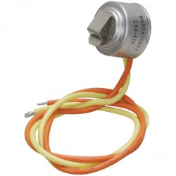 Exact Replacement Parts (ERP) - ERWR50X10021 - ERP(R) ERWR50X10021 Refrigerator Defrost Thermostat (GE(R) WR50X10021)