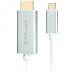 EZQuest - X40095 - EZQuest X40095 USB-C(TM)/Thunderbolt(R) 3 to HDMI(R) 4K 60Hz Male Cable, 6.6ft
