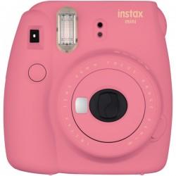 Fujifilm - 16550631 - Fujifilm Instax Mini 9 Instant Film Camera - Instant Film - Flamingo Pink
