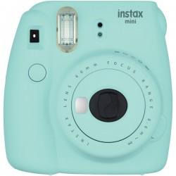 Fujifilm - 16550643 - Fujifilm Instax Mini 9 Instant Film Camera - Instant Film - Ice Blue