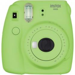 Fujifilm - 16550655 - Fujifilm Instax Mini 9 Instant Film Camera - Instant Film - Lime Green