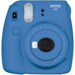 Fujifilm - 16550667 - Fujifilm Instax Mini 9 Instant Film Camera - Instant Film - Cobalt Blue