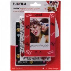 Fujifilm - 600017132 - Fujifilm(R) 600017132 Instax(R) Magnetic Photo Frames, 3 pk (Emoji)