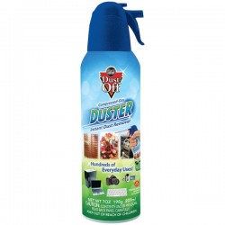 Falcon Safety - RET07521 - Dust-Off RET07521 Air Duster - For Multipurpose - 7 fl oz - 1 - Black