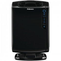 Fellowes - 9286101 - Fellowes AeraMax Air Purifier with Sensor - True HEPA, Activated Carbon - 190 Sq. ft. - Silver, White