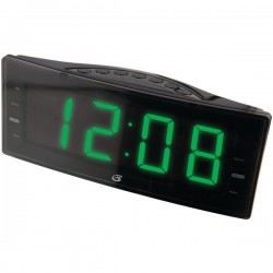 GPX - C353B - GPX Desktop Clock Radio - Mono - 2 x Alarm - Manual Snooze
