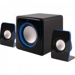 iLive - HB36B - iLive HB36B Bluetooth(R) Home Music System with LED Lights
