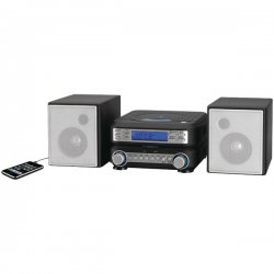 GPX - HC221B - GPX HC221B Micro Hi-Fi System - AM, FM - CD-RW - 2 Speaker(s) - MP3 - Remote Control