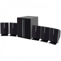GPX - HT050B - GPX(R) HT050B 5.1-Channel Home Theater Speaker System