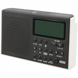 GPX - R616W - GPX R616W Portable 6-Band Shortwave AM/FM Radio