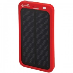 iLive - WP6216R - iLive WP6216R 2, 100mAh Solar Charger for Mobile Devices