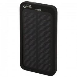 iLive - WP6406B - iLive WP6406B 4, 000mAh Solar Charger for Mobile Devices