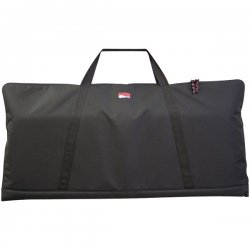 Gator Cases - GKBE61 - Gator Cases GKBE-61 Carrying Case for Keyboard - Black - Nylon - 6 Height x 17.5 Width x 43 Depth