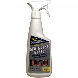 Cerama Bryte - 47616 - Cerama Bryte(R) 47616 Stainless Steel Cleaning Polish