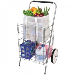 Helping Hand - FQ3915D - Helping Hand(R) FQ3915D 2-Wheel Folding Cart with Folding Shelf