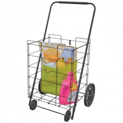 Helping Hand - FQ39520FD - Helping Hand(R) FQ39520FD 4-Wheel Deluxe Folding Cart