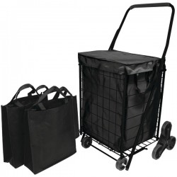 Helping Hand - FQ39908BK - Helping Hand(R) FQ39908BK Stair Climb Cart with Liner & 2 Bags
