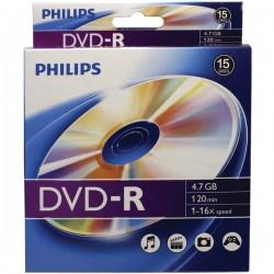 Philips - DM4S6B10B/17 - Philips(R) DM4S6B10B/17 4.7GB 16x DVD-Rs, 10-ct Peggable Box