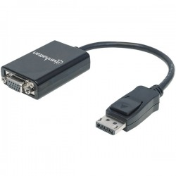 Manhattan - 151962 - Dp-m To Vga/f Adapter, (6 In.)