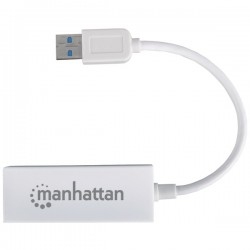 Manhattan - 506731 - Usb 2.0 Fast Ethernet Adapter 10/100 Mbps Fast Ethernet, Hi-speed Usb 2.0