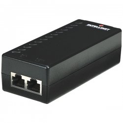 IntelliNet - 524179 - Intellinet 1-Port PoE Injector - Supports all IEEE 802.3af-compliant PoE devices