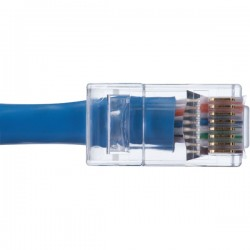 IDEAL Electrical / IDEAL Industries - 85-376 - IDEAL(R) 85-376 CAT-6 Feed-Thru RJ45 Mod Plugs (50 pk)