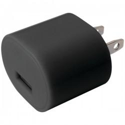 iEssentials - IE-AC1-USB - iEssentials(R) IE-AC1-USB 1-Amp USB Wall Charger (Black)