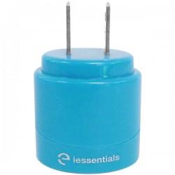 iEssentials - IE-ACP2U-BL - iEssentials(R) IE-ACP2U-BL 2.1-Amp Dual-USB Home Charger (Blue)