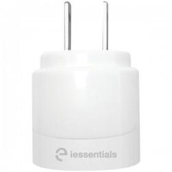 iEssentials - IE-ACP2U-WT - iEssentials(R) IE-ACP2U-WT 2.1-Amp Dual-USB Home Charger (White)