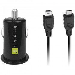 iEssentials - IE-PCP-2C - iEssentials(R) IE-PCP-2C USB Car Charger with Micro & Mini Cables