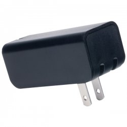 iEssentials - IE-ACP-2U - iEssentials(R) IE-ACP-2U 2.1-Amp Dual-USB Home Charger (Black)