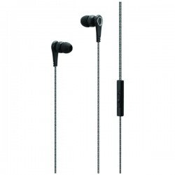 iLive - IAEV17B - Stereo Earbuds with In-Line Volume Control and Microphone