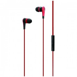 iLive - IAEV17R - iLive IAEV17R Earbuds with Microphone (Red)
