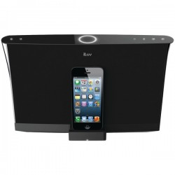 JWin / iLuv - AUD5ABLK - ILUV iMM547 Aud5 Apple(R) Lightning(TM) Speaker Dock