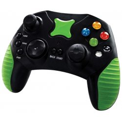 Innovation - 66912 - Innovation Xbox Controller - Green - Cable - Xbox