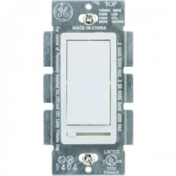 GE (General Electric) - 10464 - GE(R) 10464 Single Pole Rocker-Style Dimmer