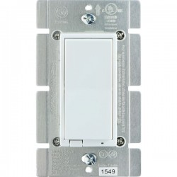 GE (General Electric) - 12725 - GE(R) 12725 Z-Wave(R) 1, 000-Watt In-Wall Smart Dimmer Switch