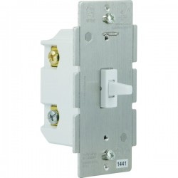 GE (General Electric) - 12728 - GE(R) 12728 Z-Wave(R) 3-Way In-Wall Add-on Toggle Switch
