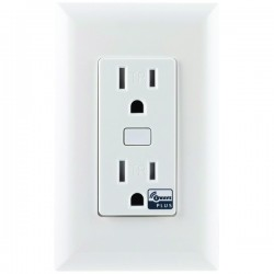 GE (General Electric) - 14288 - GE(R) 14288 Z-Wave(R) In-Wall Tamper-Resistant 500S Smart Outlet