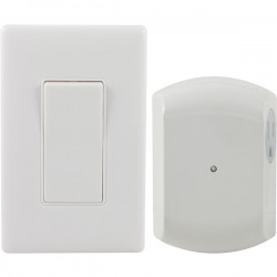 GE (General Electric) - 18279 - GE(R) 18279 Wireless Wall Switch Light Control with 1 Outlet Receiver