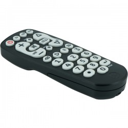 GE (General Electric) - 25040 - GE(R) 25040 3-Device Universal Remote with Oversized Buttons