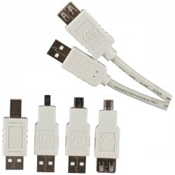 GE (General Electric) - 98152 - GE(R) 98152 USB 2.0 Cable Kit, 6ft