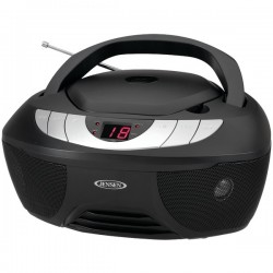 Jensen - CD-475 - JENSEN(R) CD-475 Portable Stereo CD Player with AM/FM Radio
