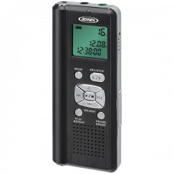 Jensen - DR115 - Jensen Dr115 Digital Voice Recorder With Micro Sd Card Slot