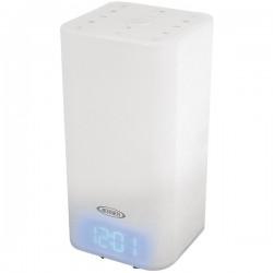 Jensen - JCR-370 - JENSEN(R) JCR-370 Mood Lamp Digital Dual Alarm Clock Radio
