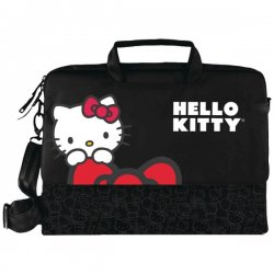 "Hello Kitty - KT4335B - HELLO KITTY KT4335B 15.4"" Notebook Bag (Black)"