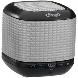 Jensen - JENSMPS621R - JENSEN JENSMPS621R Portable Bluetooth(R) Speaker (Silver)