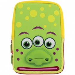 Tabzoo - TZ532MG - TABZOO TZ532MG 8 Universal Green Monster Tablet Sleeve